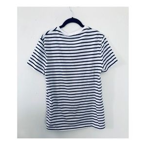 Polo by Ralph Lauren Shirts - Men's slim fit t shirt. Navy and white stripes.